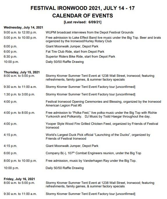 View Full Schedule