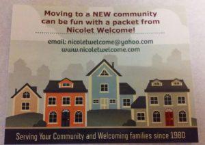 Nicolet Welcome Service